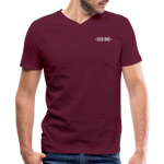Men's V-Neck T-Shirt (Tier One) - maroon