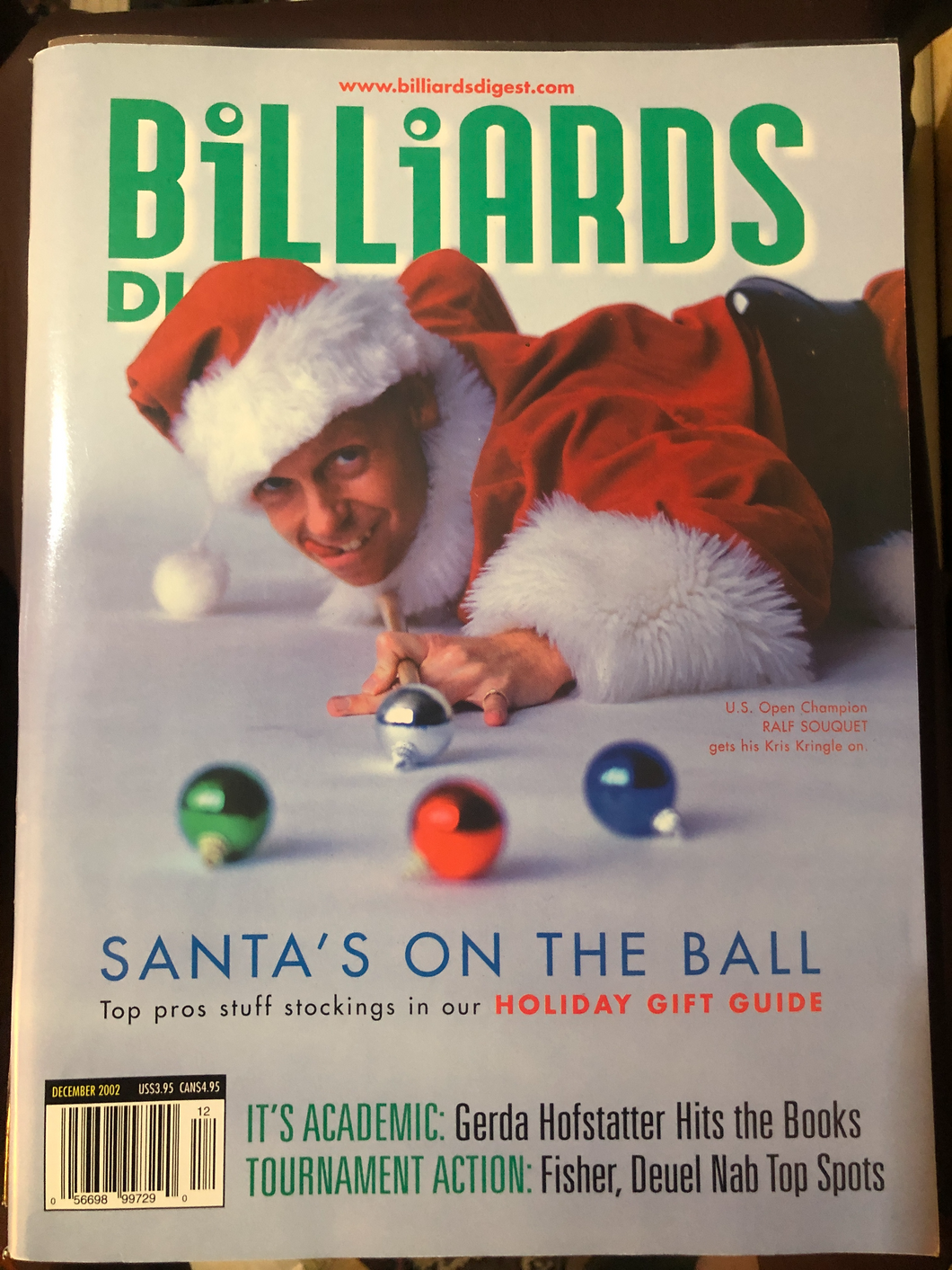 Billiards Digest Magazine December 2002