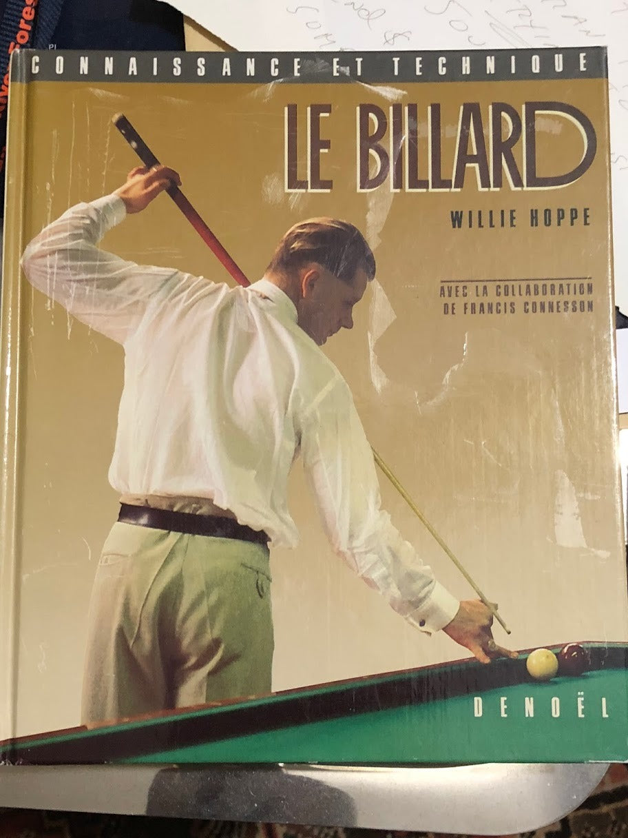 Le Billard- French Re-Make of Willie Hoppe Book