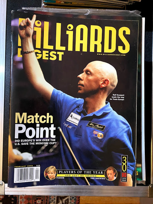 Billiards Digest February 2008