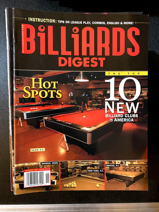 Billiards Digest November 2007