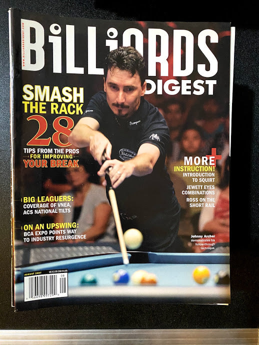 Billiards Digest August 2007
