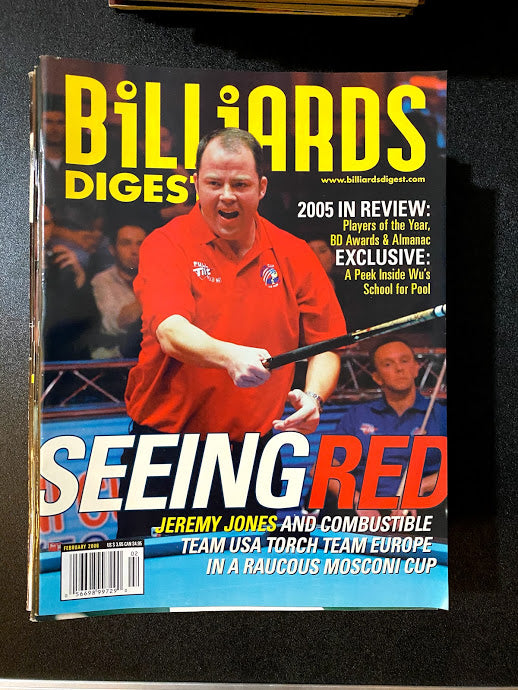 Billiards Digest February 2006