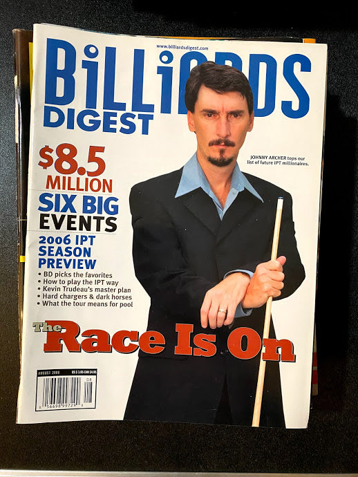 Billiards Digest August 2006