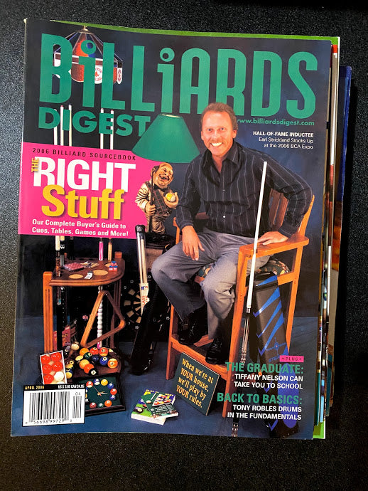 Billiards Digest April 2006
