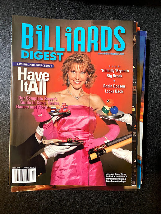 Billiards Digest April 2005