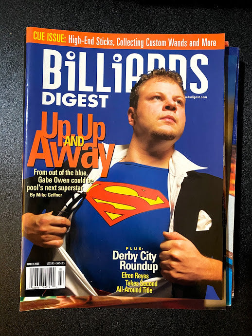 Billiards Digest March 2005