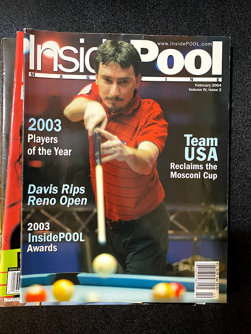 Inside Pool Magazine February 2004