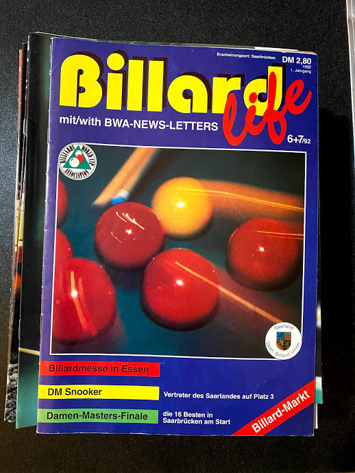 Billiard Life June/July 1992