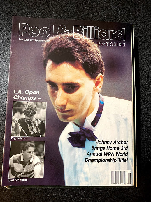 Pool and Billiard Magazine June 1992