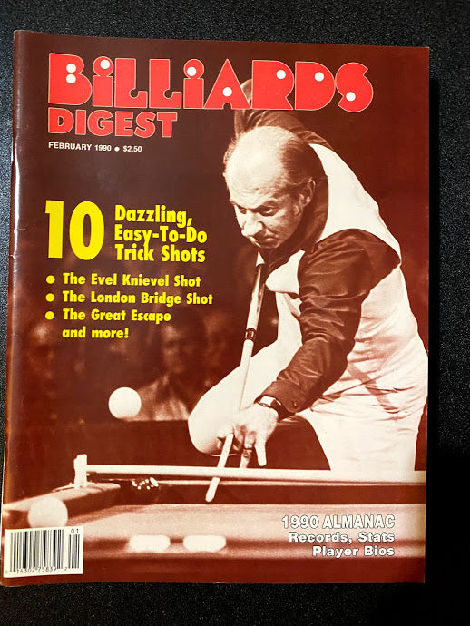 Billiards Digest February 1990