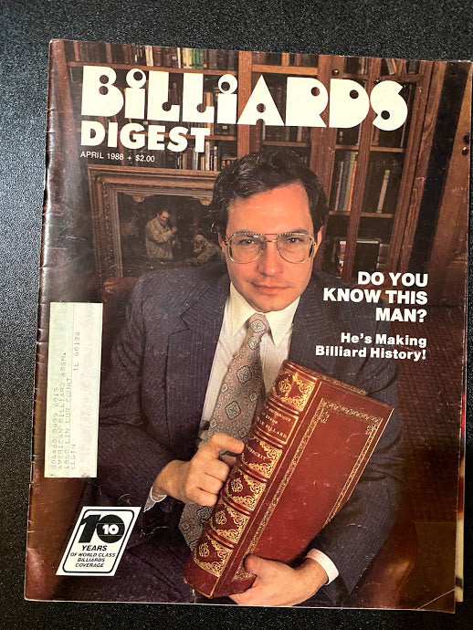 Billiards Digest April 1988