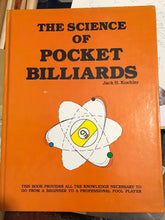 Load image into Gallery viewer, The Science of Pocket Billiards- Signed 1st Edition