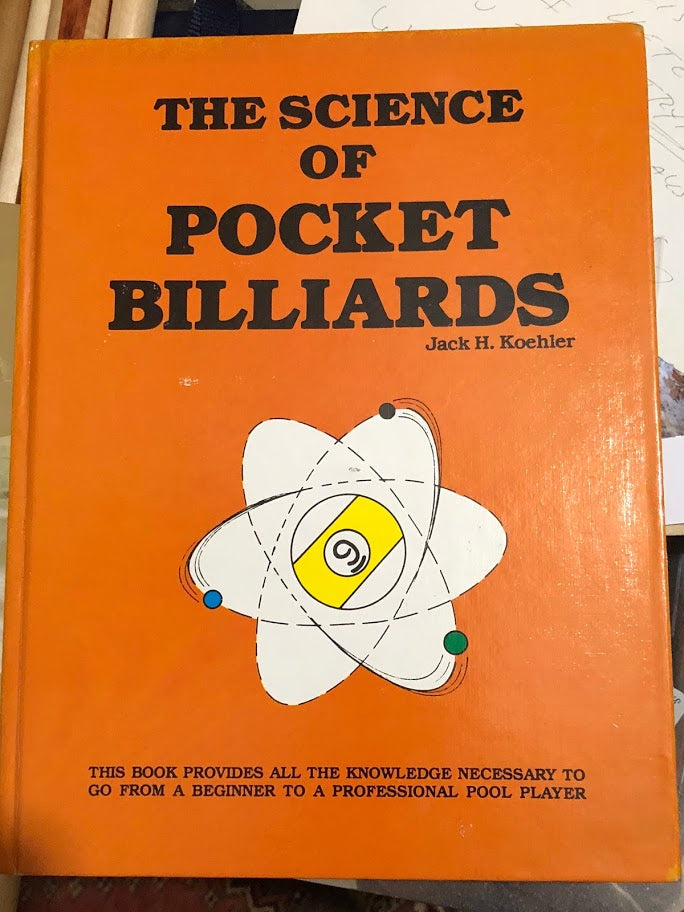The Science of Pocket Billiards- Signed 1st Edition
