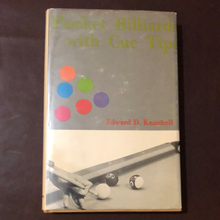 Load image into Gallery viewer, Pocket Billiards with Cue Tips by Edward Knuchell. 1970 First Edition