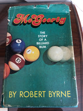 Load image into Gallery viewer, McGoorty- The Story of a Billiard Bum. Rare signed, personalized, 1st Edition.
