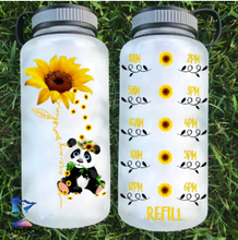 Load image into Gallery viewer, You Are My Sunshine Panda Water Bottle | 34oz