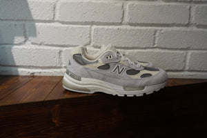 New Balance 992 White Silver Nimbus Cloud