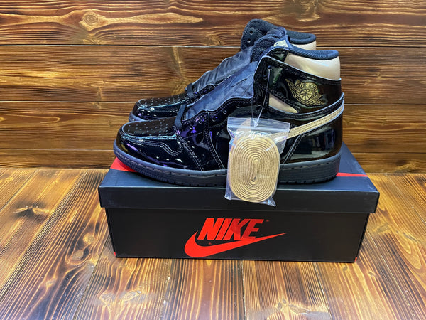 Air Jordan 1 Retro High Black Metallic Gold (2020)