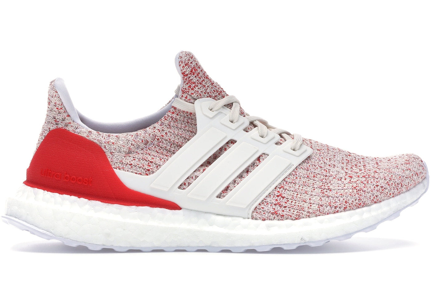 Ultra Boost 4.0 Chalk White Red