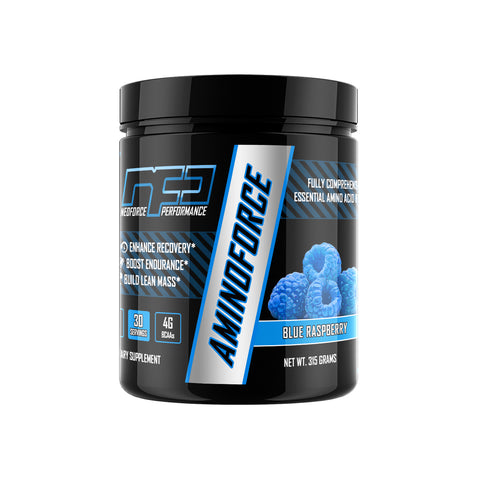 AminoForce - Blue Raspberry, 30 Servings