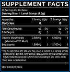 CreaForce - Unflavored, 60 Servings