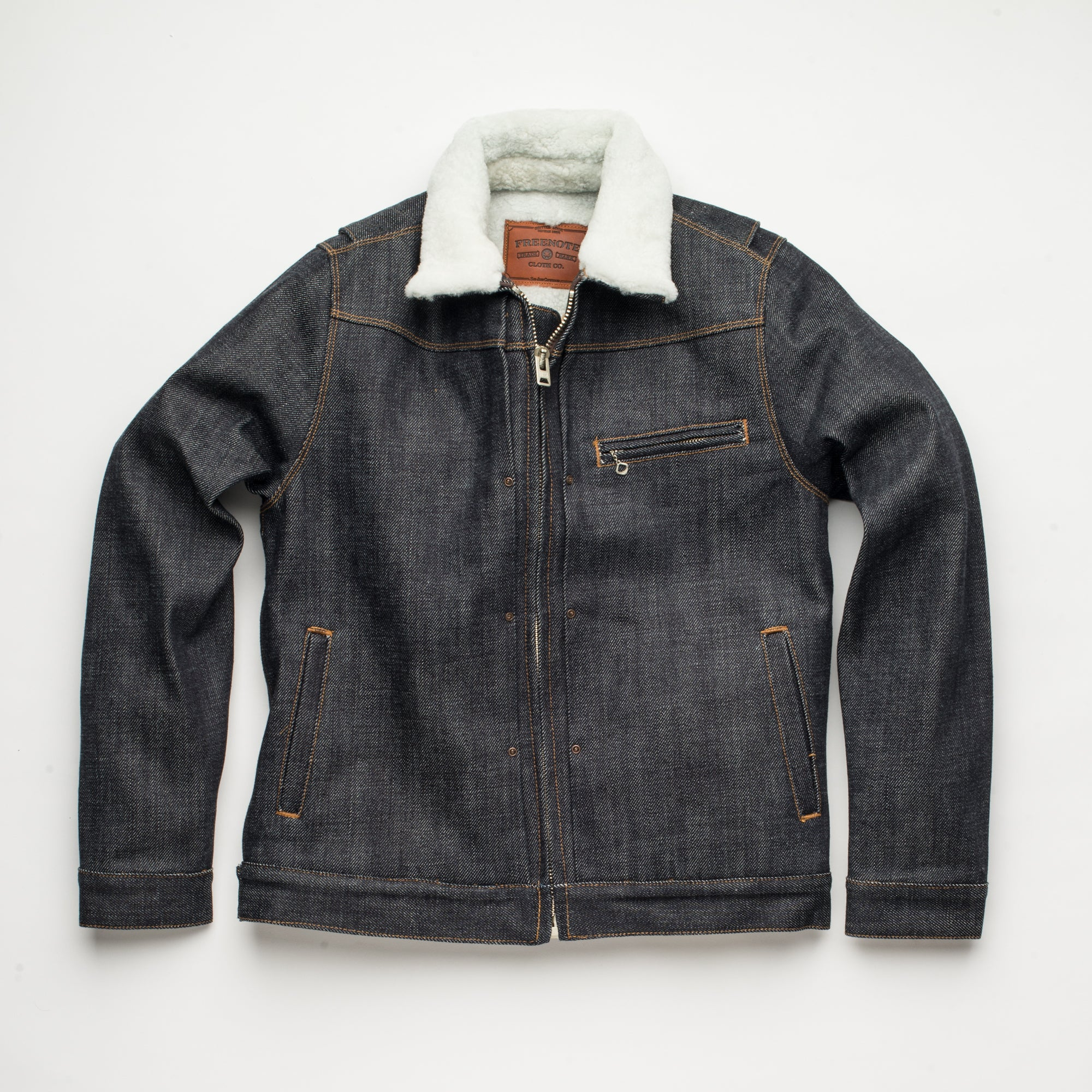 RJ2 Denim <span>White Shearling</span>