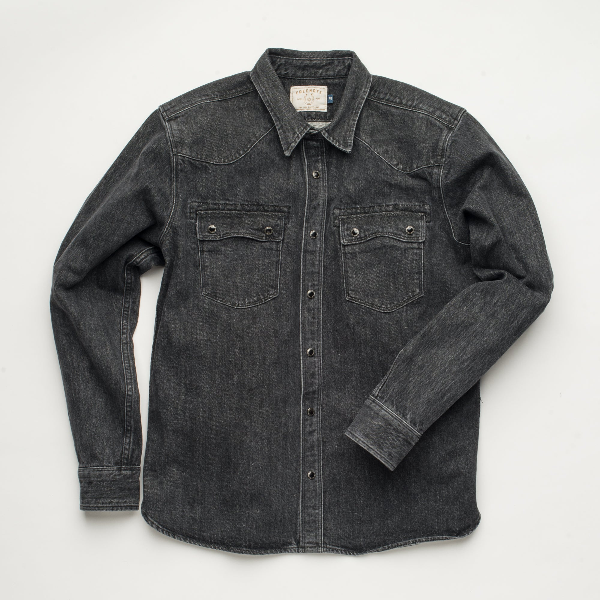 Modern Western <span> 13 ounce Cone Black denim </span>