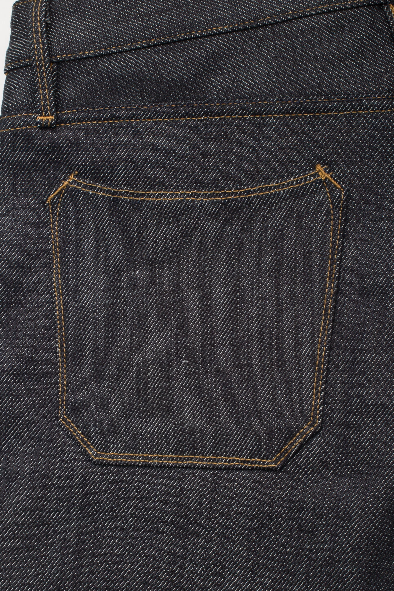 Portola Taper Raw 20 oz Japanese Denim Back Pocket