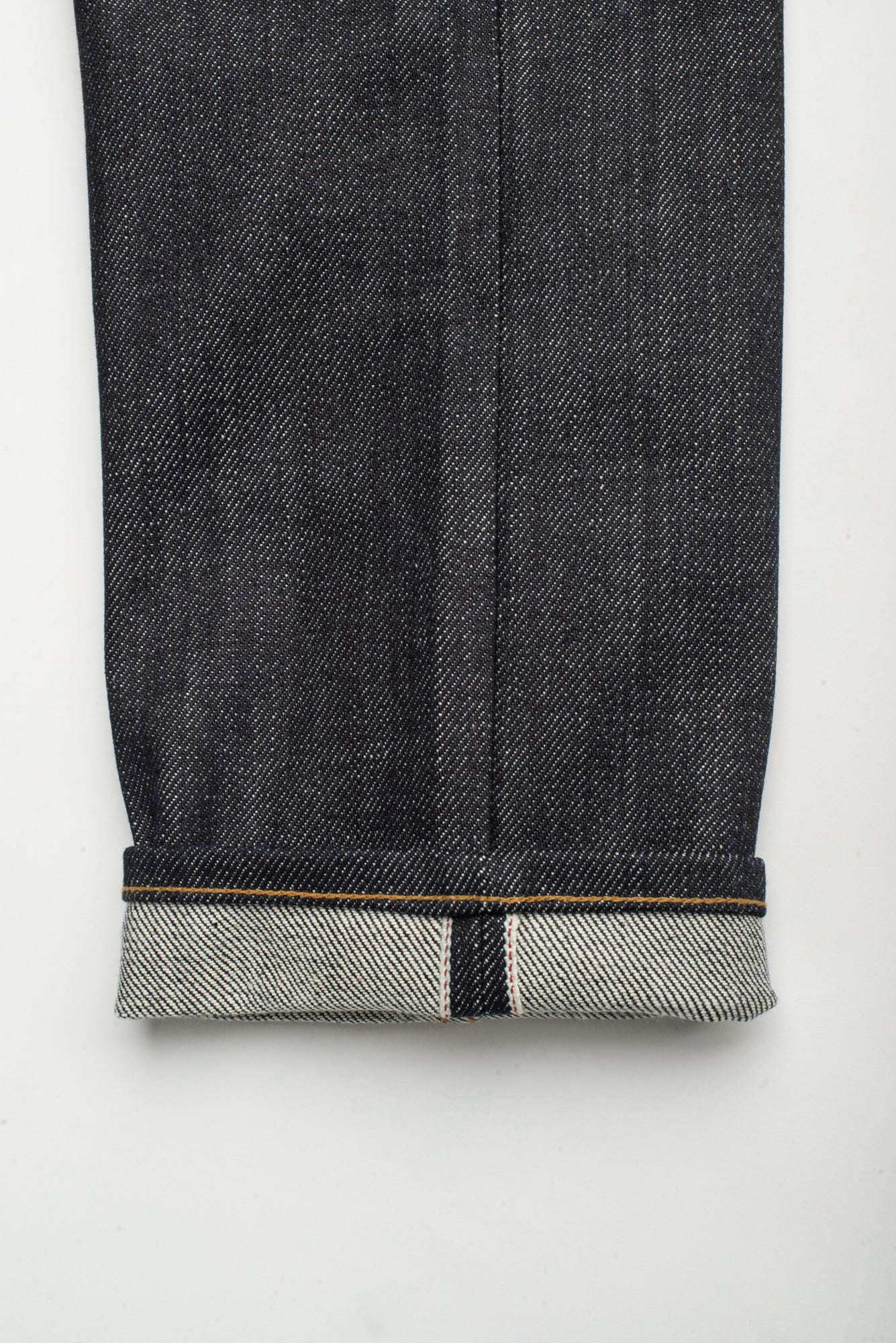 Portola Taper Raw 20 oz Japanese Denim Selvage Detail