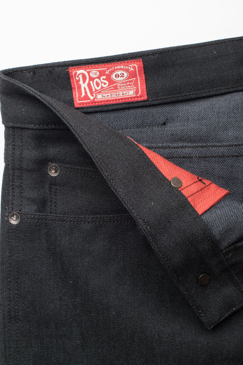 Rios <span>Raw 14.25 oz Black Grey Japanese Denim</span>