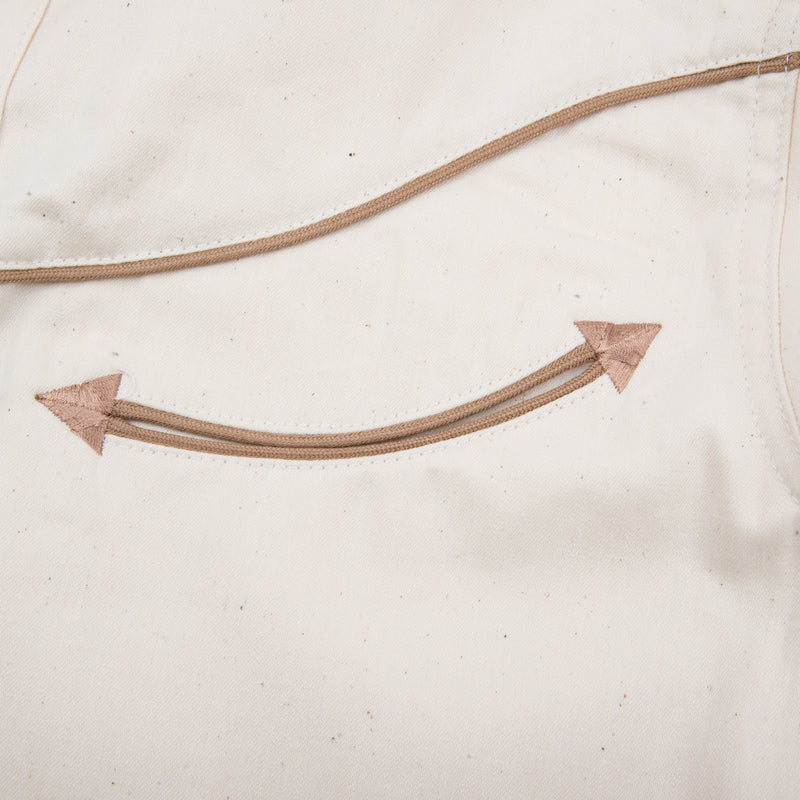 Rambler Cream welt pocket detail
