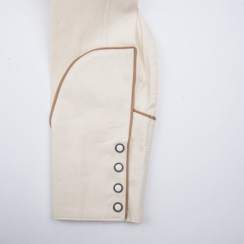 Rambler Cream cuff placket