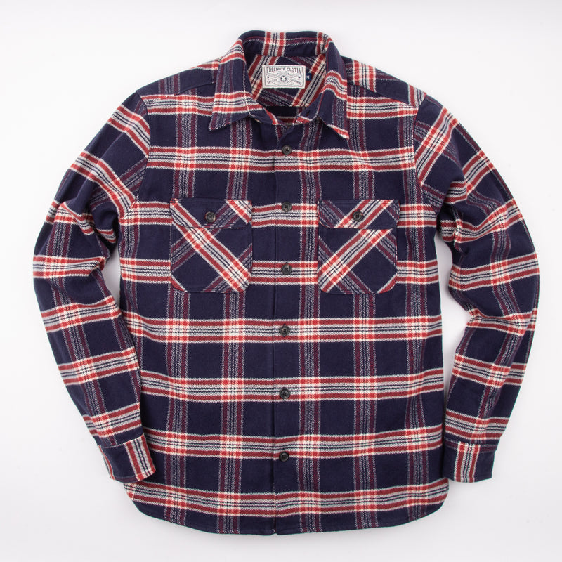 Benson <span> Navy Plaid </span>