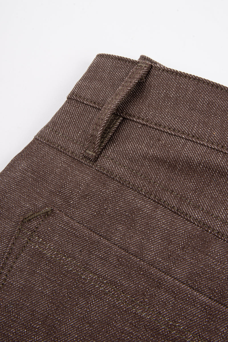 Rios <span> 13 Ounce Brown Denim</span>