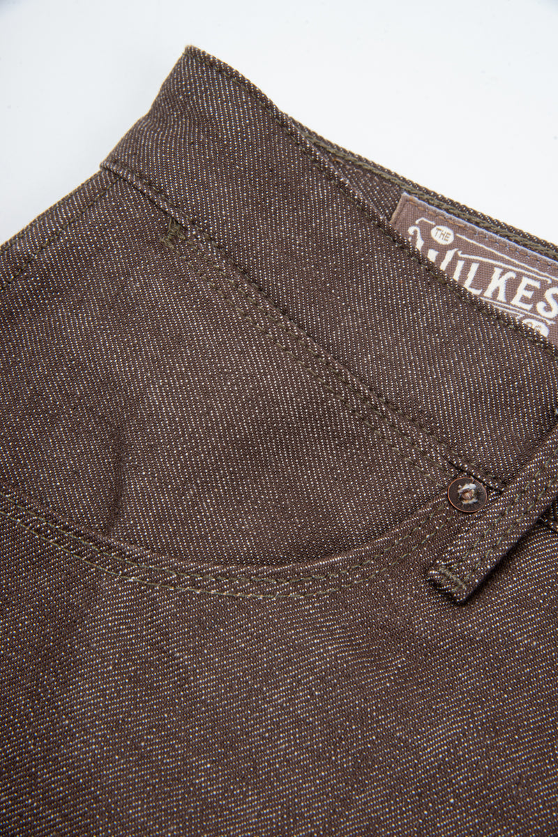 Wilkes Western <span>13 Ounce Brown Denim</span>