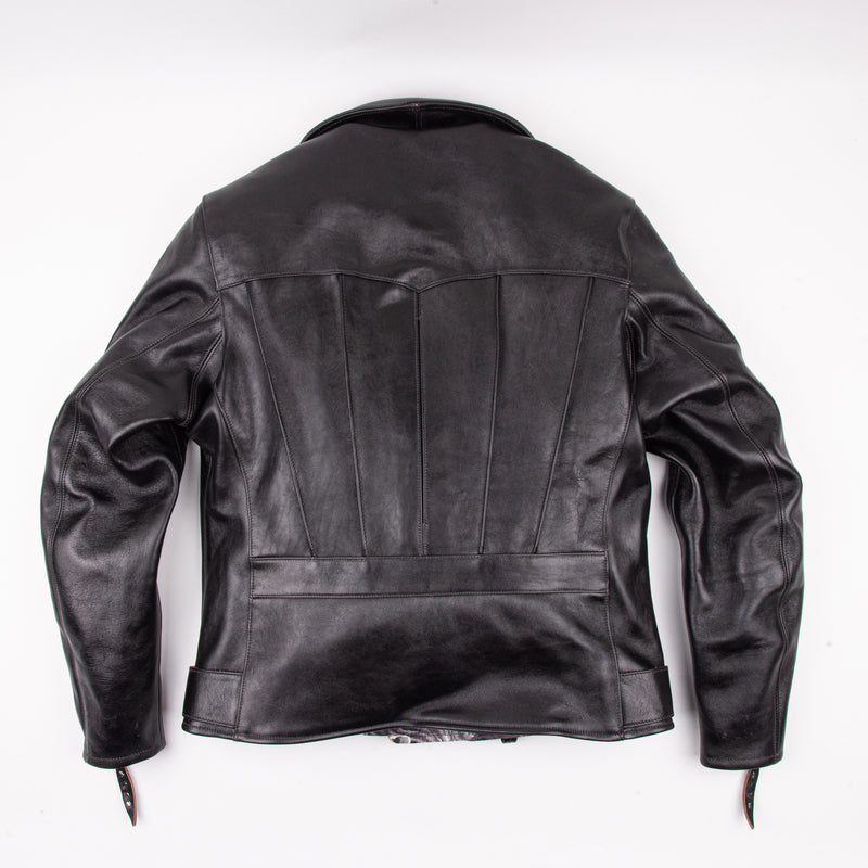 Himel Bros x Freenote Cloth Avro Jacket <span> Black Horsehide</span>