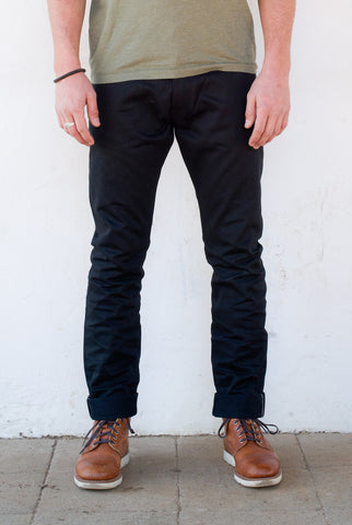 Freenote Cloth | Avila Slim - Black Denim | $200