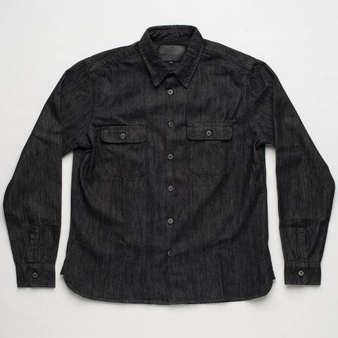Freenote Cloth | Benson - Black Denim | $250