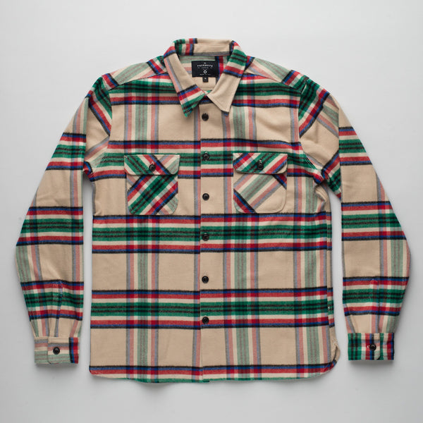 Freenote Cloth | Benson Shirt - Plaid | $250