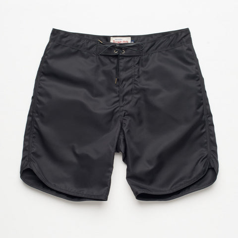 Freenote Cloth | Standard Issue Boardshort - Black | $150