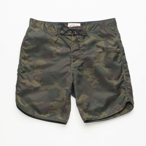 Freenote Cloth | Standard Issue Boardshort - Camo | $150