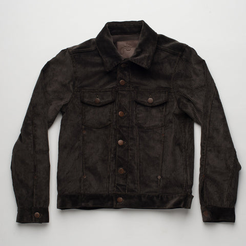 Freenote Cloth | Classic Jacket - Corduroy Brown | $300
