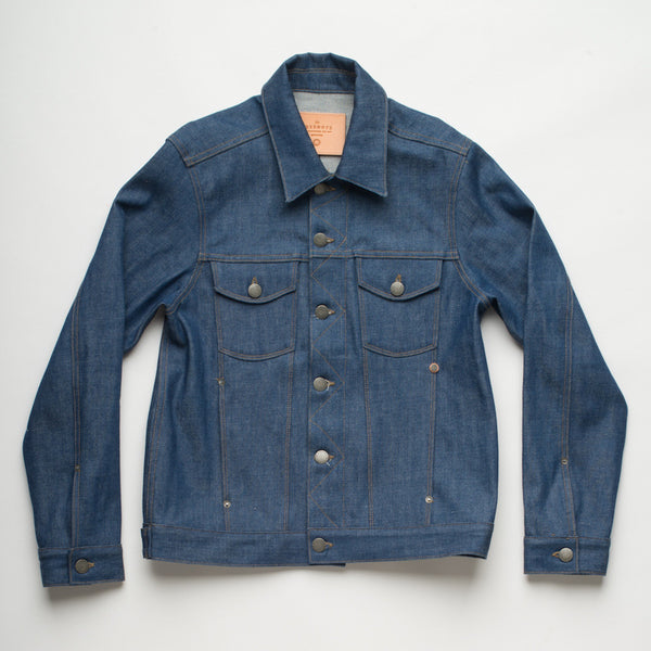 Freenote Cloth | Classic Denim Jacket - Royal Cast | $280