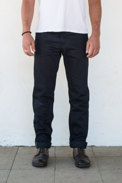 Portola | 14.75 oz Blue Black Japanese Denim | $240