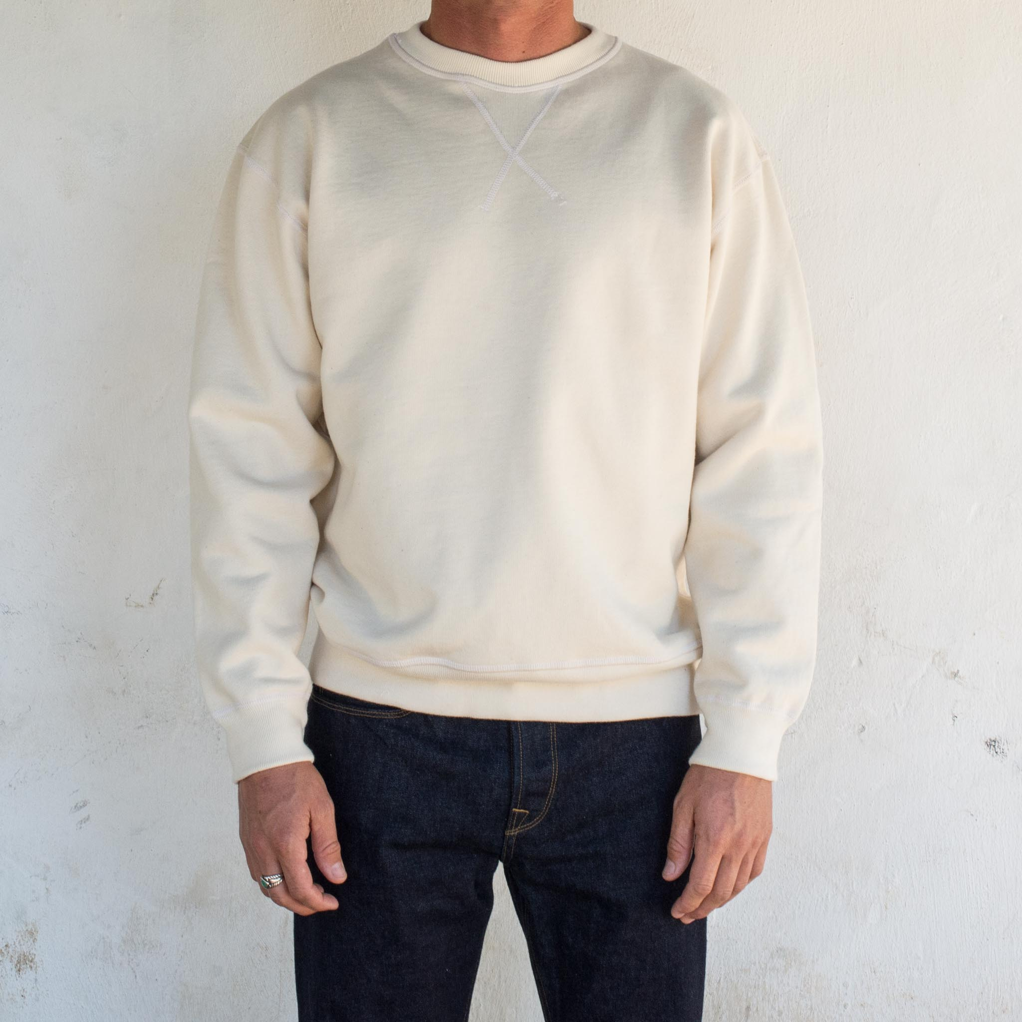 DECK SWEATSHIRT <span>NATURAL</span>