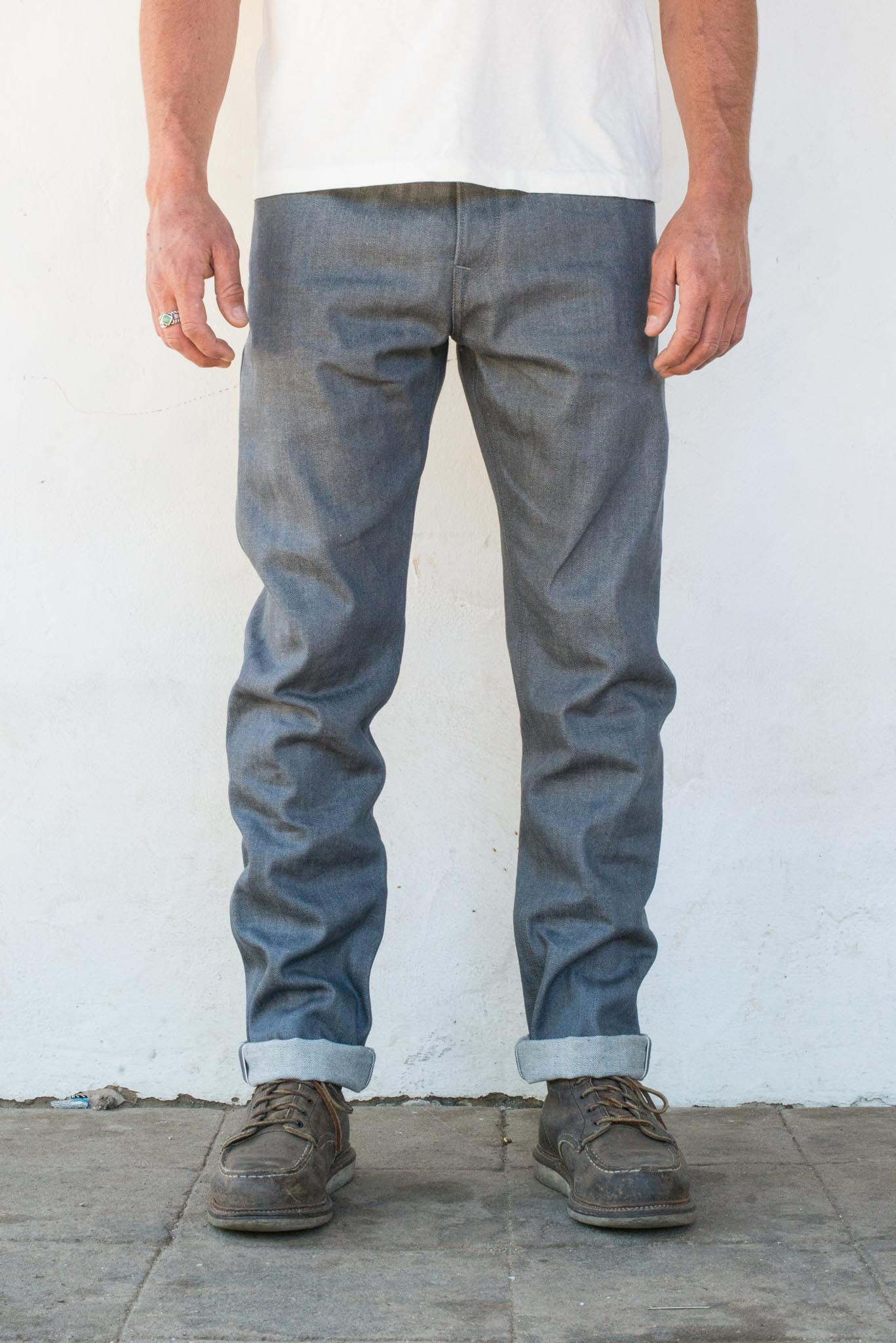 Portola Taper <span> 13oz Grey Denim </span>
