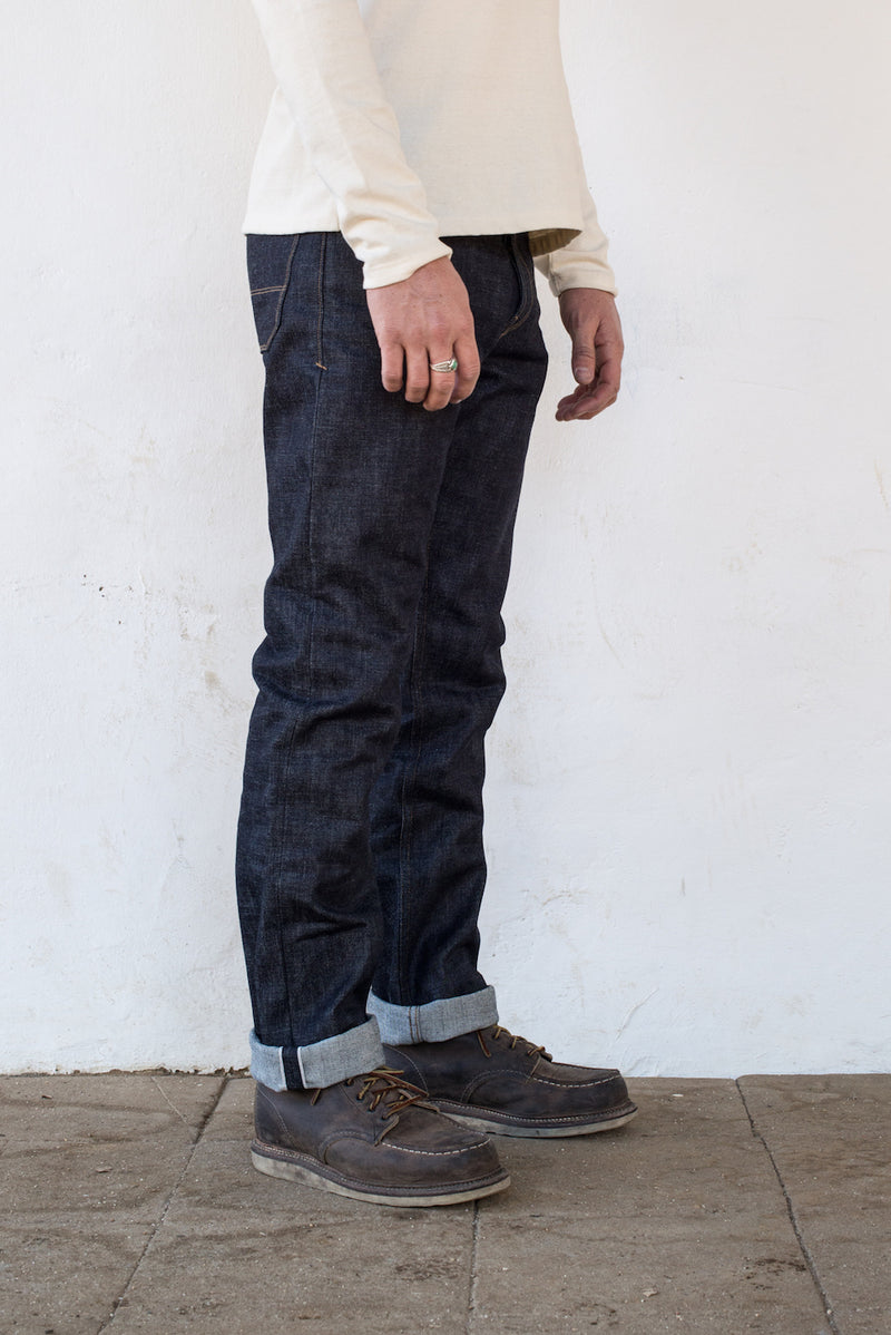 Freenote Cloth | Trabuco - Raw 14.75oz Cone Mill Denim | $230
