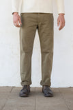 Freenote Cloth | Workers Chino Classic Fit | Brown Herringbone $220