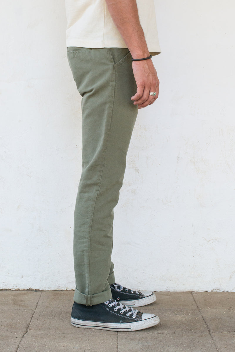 Workers Chino Slim Fit <span> Olive </span>